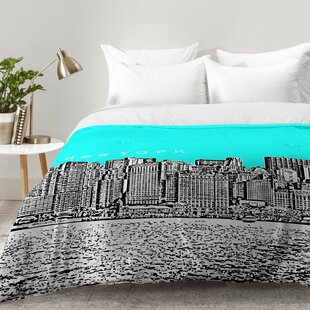 New York Aqua Comforter Set