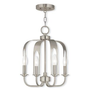 Lawrence 4-Light Foyer Chandelier by Latitude Run