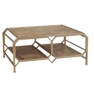 Sagebrook Home Wood and Metal Coffee Table