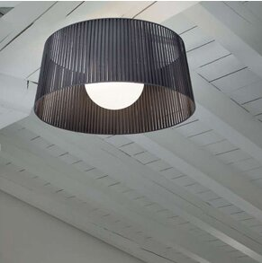 Ribbon 1-Light Semi Flush Mount by Morosini