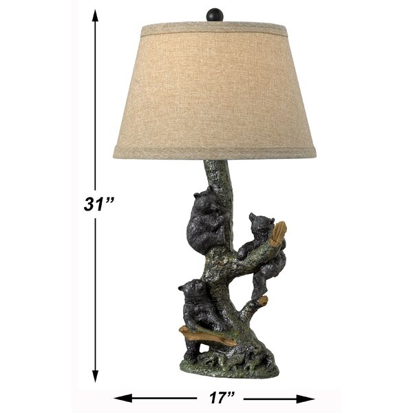 Medallion Lighting Grigio 31 Natural Table Lamp Set Wayfair