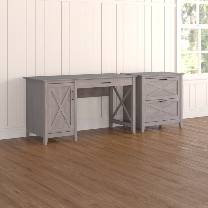 quality design cf60d b97dd Oridatown Computer Desk with Storage and 2 Drawer Lateral File Cabinet