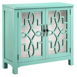 One Allium Way Aldridge Cabinet 2 Door Accent Cabinet