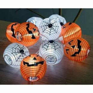Pumpkin Halloween 10 Light LED String Lighting By The Seasonal Aisle