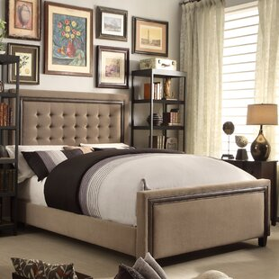 Hidalgo Queen Upholstered Panel Bed by Mulhouse Furniture