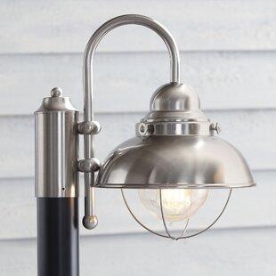 modern contemporary outdoor solar post lights allmodern