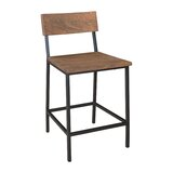 Sonnier Solid Wood 24.5 Counter Stool (Set of 2) by Union Rustic