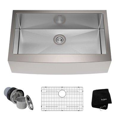 33   x 21   farmhouse kitchen sink with drain assembly stainless steel 31   x 19   undermount kitchen sink with drain      rh   allmodern com