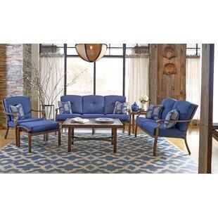 Trisha Yearwood Home Collection 6 Piece Sunbrella Sofa Set with Cushions