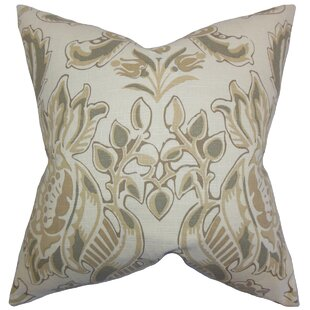 Kelila Floral Linen Throw Pillow