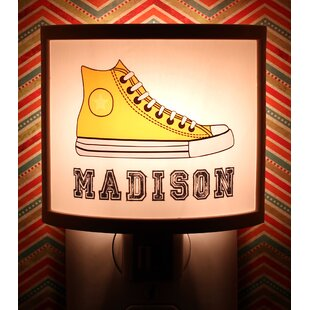 Common Rebels Yellow Sneakers Personalized Night Light