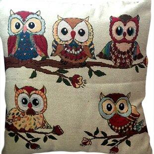 Heider Cotton Blend Pillow Cover (Set of 2)