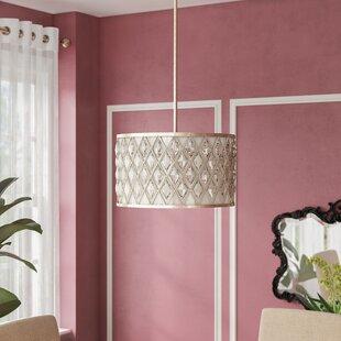 Willa Arlo Interiors Destine 3-Light Pendant
