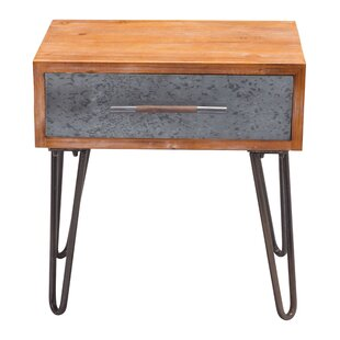 Rosanne End Table by Williston Forge