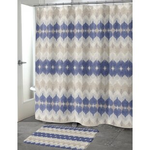 Dylan Cotton Blend Single Shower Curtain