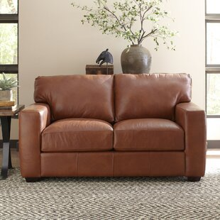 Pratt Leather Loveseat