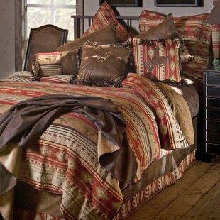 Suhel Horse Reversible Comforter Set by Loon Peak