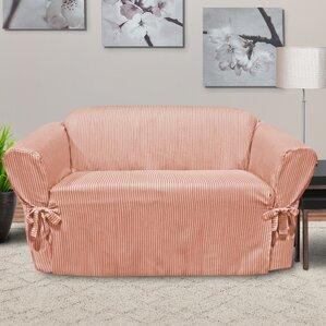 Muskoka Box Cushion Loveseat Slipcover by CoverWorks