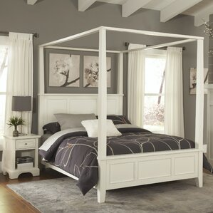 Lafferty Canopy 2 Piece Bedroom Set