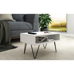 Kenosha Coffee Table with Storage by Wrought Studio