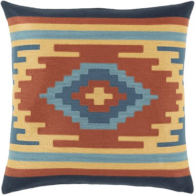 Allmoderncoventry Cotton Throw Pillow No Fill Color Orange Blue Size 22 X 22 Dailymail