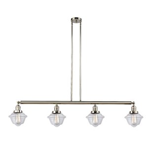 Calliope 4-Light Kitchen Island Pendant by Breakwater Bay