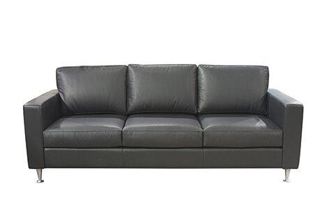 Awesome Myars Cognac Leather Sofa Wayfair Creativecarmelina Interior Chair Design Creativecarmelinacom