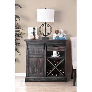 Aldiana Wooden Bar Cabinet by Gracie Oaks