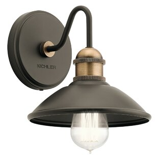 Great Price Cowans 1-Light Armed Sconce By17 Stories