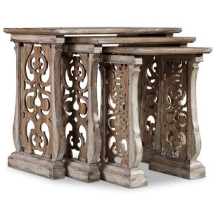 Great Price Chatelet 3 Piece Nesting Tables By Hooker Furniture