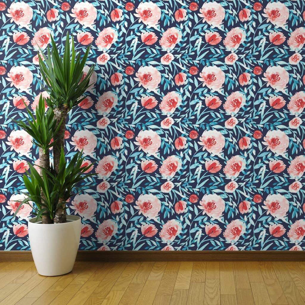 Brayden Studio Fulda Tropical Wallpaper Roll Wayfair