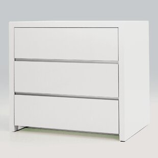 Blanche 3 Drawer Half Dresser (Set of 2)