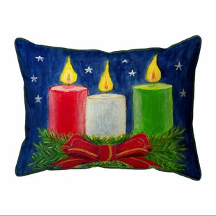 Francesca Candles Outdoor Lumbar Pillow
