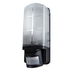 Lightsey 1 Light Outdoor Bulkhead Light With PIR Sensor By Sol 72 Outdoor
