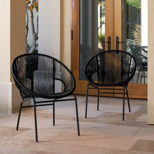 Read Reviews Repass Papasan Chair (Set of 2) By Wrought Studio