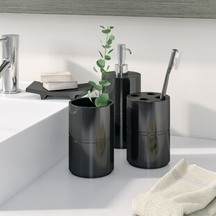 Kole 4 Piece Bathroom Accessory Set By Wade Logan