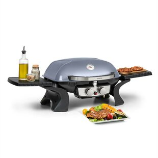 50cm Portable Liquid Propane Barbecue With 2 Burners By Klarstein