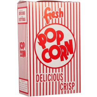 Close-Top Popcorn Box (Set of 100)
