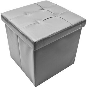 Briana Collapsible Storage Ottoman by Winsto..
