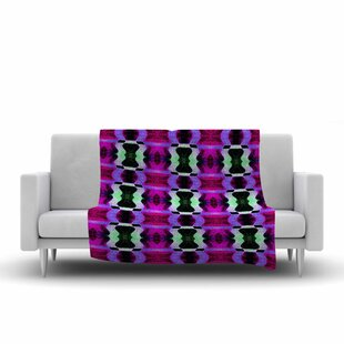 Top Anne LaBrie High Vibrations Fleece Blanket ByEast Urban Home