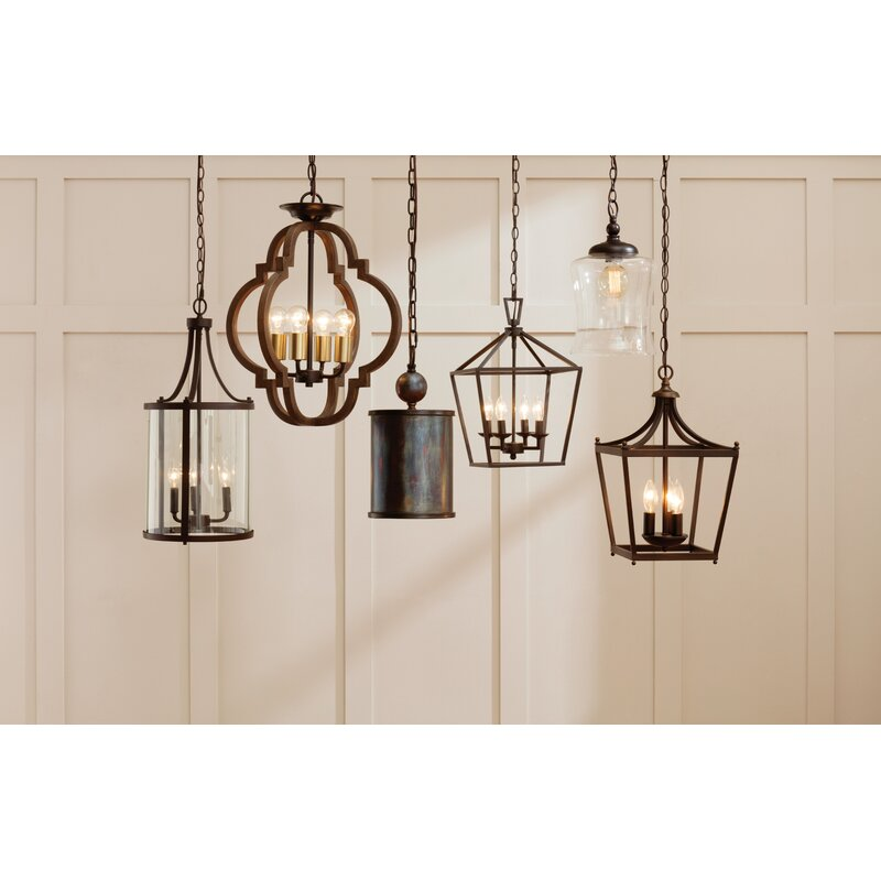 Carmen 4-Light Lantern Pendant