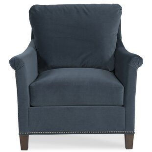 Olivia Armchair and Ottoman by Fairfield Chair