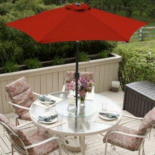 Sunblock 7' Market Umbrella by Budge Industries