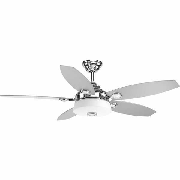 "Latitude Run 54"" Keriann 5 Blade Led Ceiling Fan With Remote & Reviews by Latitude Run"