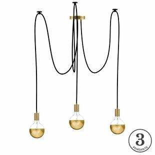 Esai 3-Light Cluster Pendant by Brayden Studio