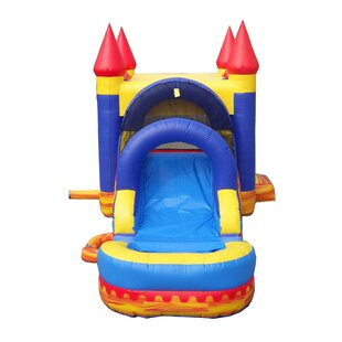 JumpOrange Turbo Blaze Bounce House