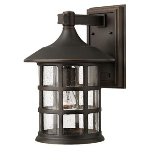 Red Barrel Studio Carlsen 1-Light Outdoor Wall Lantern