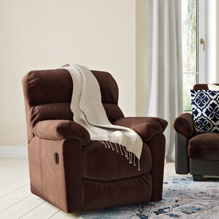 Barrington Power Recliner with Push Button by Red Barrel Studio