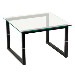 Botkin Glass End Table by Ebern Designs