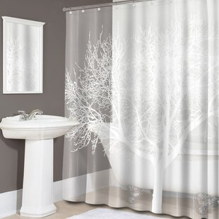 Hadleigh Tree Print PEVA Single Shower Curtain